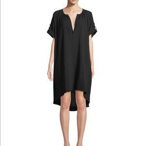 ATM black gauze dress size medium